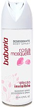 Düfte, Parfümerie und Kosmetik Deospray - Babaria Rose Hip Invisible Effect Deodorant Spray