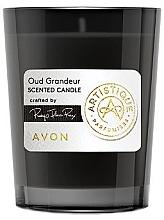 Düfte, Parfümerie und Kosmetik Avon Artistique Oud Grandeur - Duftkerze im Glas Oud Grandeur