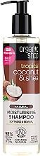 Düfte, Parfümerie und Kosmetik Feuchtigkeitsspendendes Shampoo mit Kokosnuss & Sheabutter - Organic Shop Coconut Shea Moisturising Shampoo