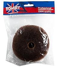 Düfte, Parfümerie und Kosmetik Professioneller Haar-Donut 11x4.5 cm braun - Ronney Professional Hair Bun 050