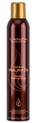 Haarspray für glänzendes Finish - L'anza Keratin Healing Oil Brush Thru Hair Spray