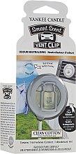 Düfte, Parfümerie und Kosmetik Auto-Lufterfrischer Clean Cotton Duftclips - Yankee Candle Smart Scent Vent Clip Clean Cotton