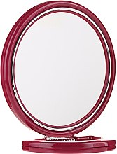 Düfte, Parfümerie und Kosmetik Doppelseitiger Kosmetikspiegel mit Ständer 9509 bordeauxrot 18,5 cm - Donegal Mirror
