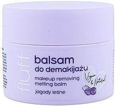 Düfte, Parfümerie und Kosmetik Gesichtsbalsam zum Abschminken mit wilden Blaubeeren - Fluff Makeup Remover Balm Wild Blueberries