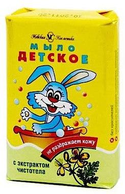 Seife für Kinder mit Schöllkraut-Extrakt - Nevskaya Cosmetica Baby Soap Celandine