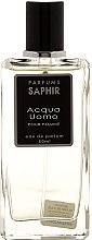 Düfte, Parfümerie und Kosmetik Saphir Parfums Acqua Uomo - Eau de Parfum (Tester mit Deckel)