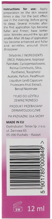 Lippenserum mit Glanzeffekt und Hyaluronsäure - DermoFuture Lip Injection Glass Glow — Bild N3