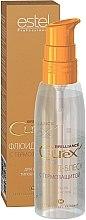Düfte, Parfümerie und Kosmetik Thermoschützendes Haarfluid für mehr Glanz - Estel Professional Curex Brilliance Fluid