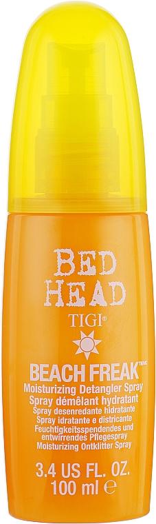 Feuchtigkeitsspendendes und entwirrendes Pflegespray für das Haar - Tigi Bed Head Beach Freak Detangler Spray