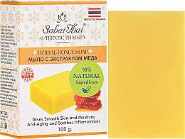 Düfte, Parfümerie und Kosmetik Honig Peelingseife - Sabai Thai Herbal Honey Soap