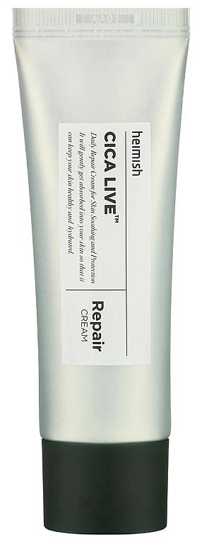 Regenerierende Gesichtscreme mit asiatischem Wassernabel - Heimish Cica Live Repair Cream