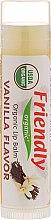 """Düfte, Parfümerie und Kosmetik Feuchtigkeitsspendender Lippenbalsam """"Vanille"""" - Friendly Organic Lip Balm Vannilla"""