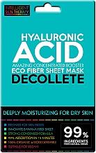 Düfte, Parfümerie und Kosmetik Intensiv feuchtigkeitsspendende Tuchmaske für das Dekolleté mit Hyaluronsäure - Beauty Face IST Extremely Moisturizing Decolette Mask Hyaluronic Acid