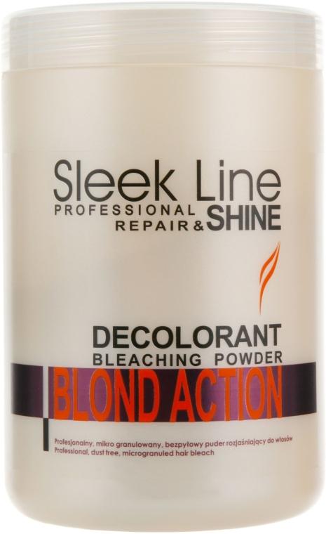 Aufhellender Haarpuder - Stapiz Sleek Line Repair & Shine Blond Action