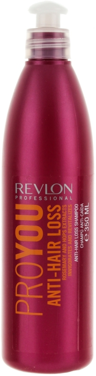 Shampoo gegen Haarausfall mit Rosmarin und Hopfen - Revlon Professional Pro You Anti-Hair Loss Shampoo — Bild N1