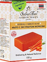 Düfte, Parfümerie und Kosmetik Seife mit Karottenextrakt - Sabai Thai Herbal Carrot Soap