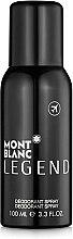 Düfte, Parfümerie und Kosmetik Montblanc Legend - Deodorant