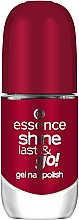 Düfte, Parfümerie und Kosmetik Nagellack mit Gel-Effekt - Essence Shine Last & Go! Gel Nail Polish