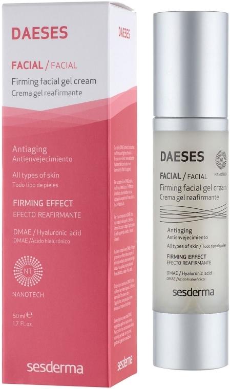 Straffendes Gesichtscreme-Gel mit Hyaluronsäure - SesDerma Laboratories Daeses Face Firming Cream Gel — Bild N1