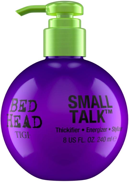 Pflegende Haarcreme für Volumen und Haarfülle - Tigi Bed Head Small Talk 3-in-1 Thickifier