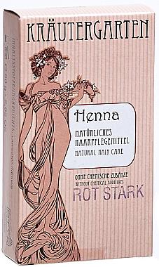 Hennapulver für intensiv rote Nuanacen - Styx Naturcosmetic Henna Rot Stark