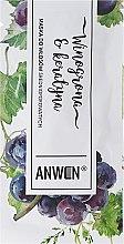 Düfte, Parfümerie und Kosmetik Maske für Haar mit normaler Porosität - Anwen Medium-Porous Hair Mask Grapes and Keratin (Probe)