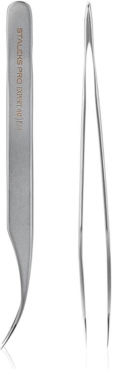 Pinzette für künstliche Wimpern TE-40/11 - Staleks Expert 40 Type 11