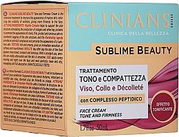 Düfte, Parfümerie und Kosmetik Straffende Anti-Falten Gesichtscreme für reife Haut mit Kollagen - Clinians Age Beauty Cream