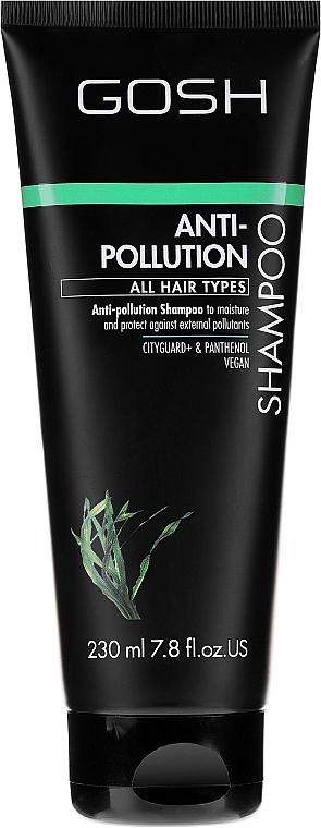 Reinigendes Shampoo für alle Haartypen - Gosh Anti-Pollution Shampoo