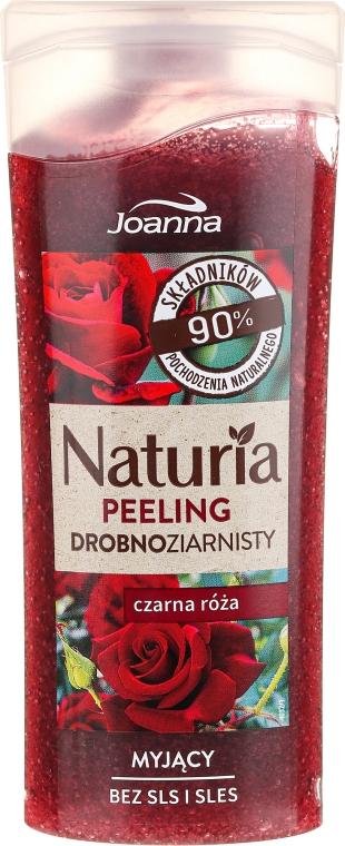 Duschpeeling mit schwarzem Rosenduft - Joanna Naturia Peeling