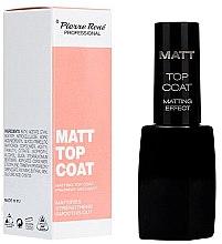 Düfte, Parfümerie und Kosmetik Mattierender Nagelüberlack - Pierre Rene Matt Top Coat Matting Effect