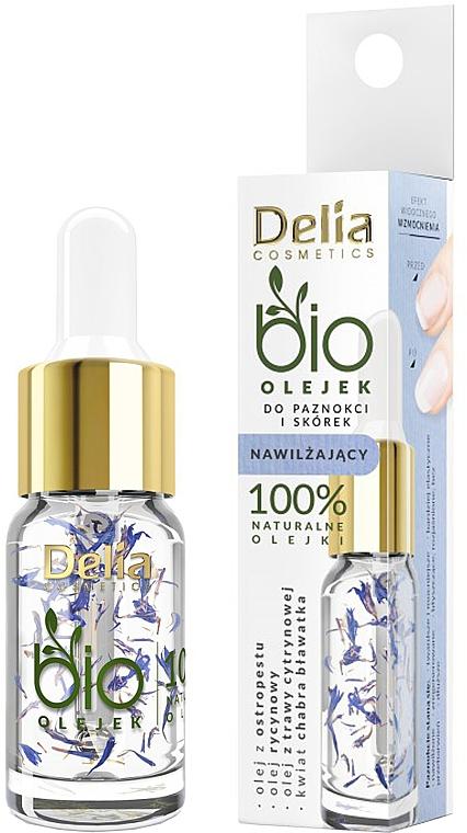 Feuchtigkeitsspendendes Nagel- und Nagelhautöl - Delia Cosmetics Bio Nail Oil