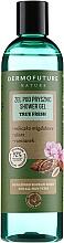 Düfte, Parfümerie und Kosmetik Duschgel für alle Hauttypen mit Mandelmilch, Aloe Vera und Kamille - Dermofuture Nature Shower Gel True Fresh