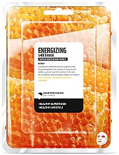 Düfte, Parfümerie und Kosmetik Energiespendende Tuchmaske mit Honig - Superfood For Skin Energizing Sheet Mask