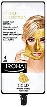 Düfte, Parfümerie und Kosmetik Straffende Peel-Off Maske mit Gold - Iroha Nature Gold Peel Off Mask Firming
