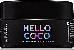 Düfte, Parfümerie und Kosmetik Aufhellendes natürliches Zahnpulver mit Aktivkohle - Hello Coco Sweet Mint Activated Natural Charcoal Teeth Whitener
