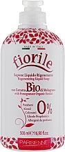 Düfte, Parfümerie und Kosmetik Flüssigseife mit Granatapfel-Extrakt - Parisienne Italia Fiorile Pomergranate Liquid Soap