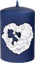Düfte, Parfümerie und Kosmetik Dekorative Kerze Amore blau - Artman Amore Ø7xH10cm