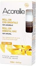 Düfte, Parfümerie und Kosmetik Orientalisches Roll-on Enthaarungswachs mit Ylang-Ylang und Rohrzucker - Acorelle Roll On Ylang Oriental Body Wax