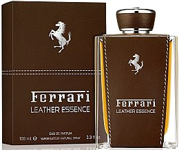 Düfte, Parfümerie und Kosmetik Ferrari Leather Essence - Eau de Parfum (Tester ohne Deckel)