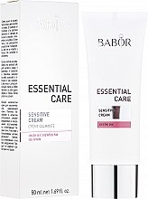Düfte, Parfümerie und Kosmetik Geschmeidige Gesichtspflegecreme für empfindliche und irritierte Haut - Babor Essential Care Sensitive Cream
