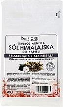 Düfte, Parfümerie und Kosmetik Badesalz mit weißem Tee - E-Fiore White Tea Himalayan Salt