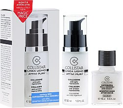 Düfte, Parfümerie und Kosmetik Set - Collistar Uomo Attivi Puri Collageno Anti-Arrugas Regenerante
