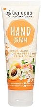 Düfte, Parfümerie und Kosmetik Handcreme mit Aprikose und Holunderblüte - Benecos Natural Care Apricot & Elderflower Hand And Nail Cream
