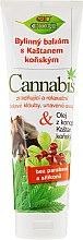 Düfte, Parfümerie und Kosmetik Massagebalsam mit Rosskastanien- und Hanföl - Bione Cosmetics Cannabis Herbal Ointment With Horse Chestnut