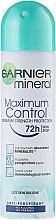 Düfte, Parfümerie und Kosmetik Deodorant 72 h Non Stop - Garnier Mineral Maximum Control 72 h