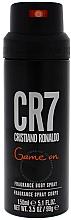 Düfte, Parfümerie und Kosmetik Cristiano Ronaldo CR7 Game On - Deospray