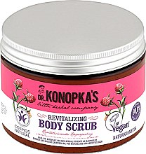 Düfte, Parfümerie und Kosmetik Körperpeeling mit Schwarzrosenextrakt - Dr. Konopka's Revitalizing Body Scrub