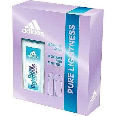 Adidas Pure Lightness - Körperpflegeset (Körperspray 75ml + Deodorant 150ml)