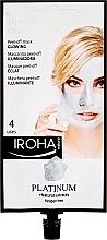 Düfte, Parfümerie und Kosmetik Gesichtsmaske - Iroha Nature Platinum Peel Off Mask Glowing 4 Uses